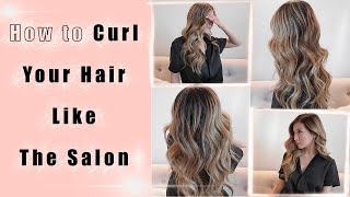 How to Curl Y๐ur Hair like the Salon