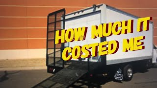 Sharing Cost Of Box Truck & Dovetail