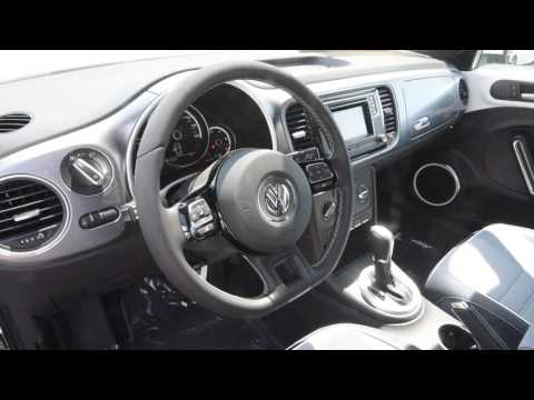 BRAND NEW 2016 Volkswagen Beetle Convertible Denim Edition Walk Around Trend Motors VW Rockaway, NJ