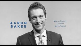 Aaron Baker News Anchor Demo Reel (2021)