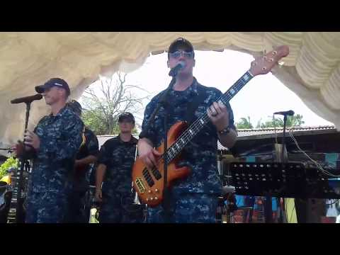 US Army/Navy Sings Api Kawuruda Cover By Wayo