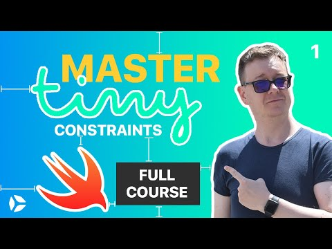 Master TinyConstraints | AutoLayout for Humans in Swift 5 (SETUP) thumbnail