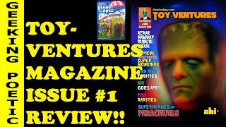 PLAID STALLIONS' TOY VENTURES MAGAZINE: OPENING & REVIEW!  AHI Azrak Hamway Rack Toys