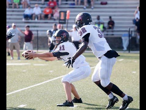 Rock Hill high schools' varsity football teams battle at jamboree