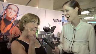 Coco Rocha Checks Out Wearable Tech at CE Week in NYC