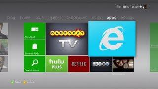 Xbox 360 New Dashboard Update + Internet Browser