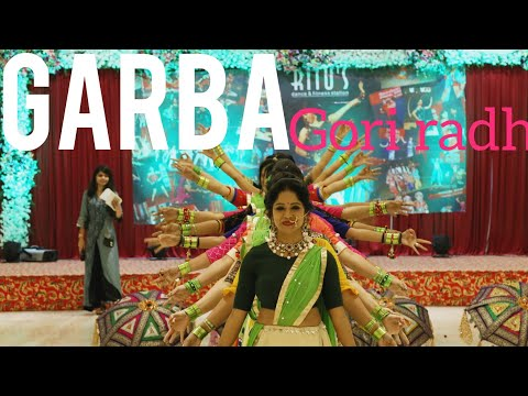 GORI RADHA/ GARBA CHOREO/ BEAUTIFUL GARBA/ LADIES GROUP DANCE/ RITU'S DANCE STUDIO SURAT