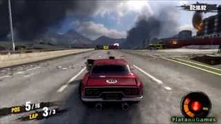 Motorstorm Apocalypse - Road Warriors - Muscle Car - Race 1 - The Last of Us Apocalyptic Series - HD