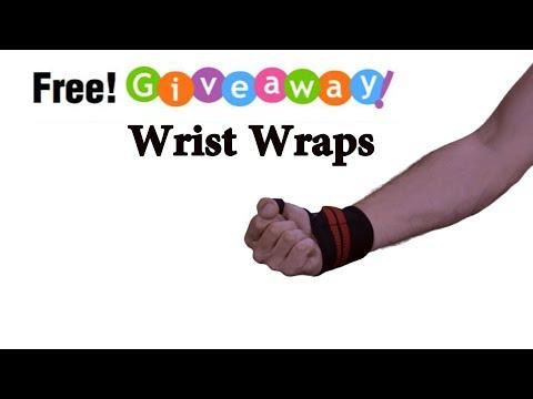 Wrist wraps deadlift Giveaway! WinWristWraps.info