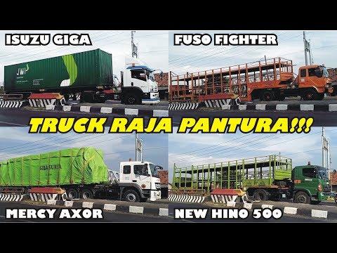 Truck Trailer ISO Tank Truk Gandeng Truk Kontainer Truk Tronton Mercy UD Quester Isuzu Fuso Hino