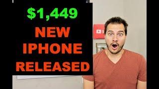 APPLE 2018 LAUNCH EVENT RECAP - $1,449 IPHONE Xs