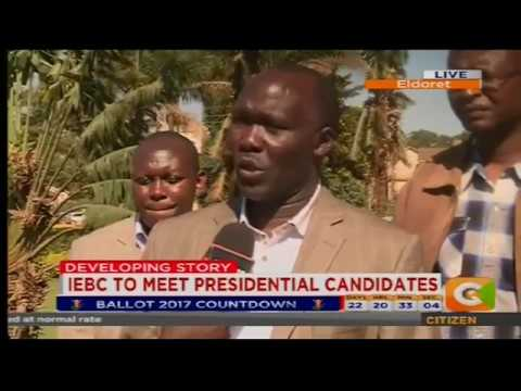 Citizen Extra : IEBC meets Presidential candidates