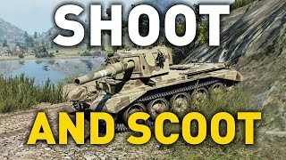 World of Tanks || Shoot and Scoot!