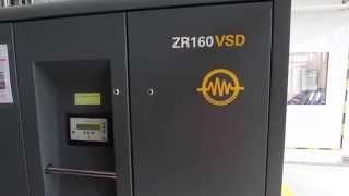 air compressor atlas copco zr 160 vsd 2005