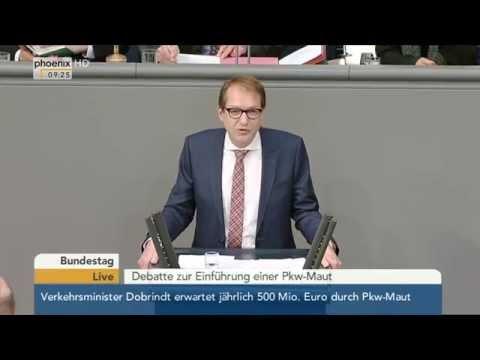 Bundestag: Debatte zur Einführung der Pkw-Maut mit Alexander Dobrindt am 26.02.2015