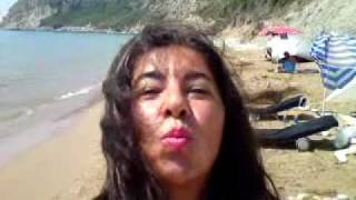 jacqueline at arila nude beach corfu.MP4