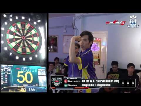 Online League Battle - Dartsland (HK) VS Newton (MO) Game 7
