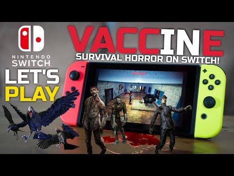 Resident Evil Clone On Switch? Let's Play VACCINE On Nintendo Switch