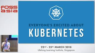 Rise of Kubernetes and the Cloud Native Computing Foundation - Chris Aniszczyk- FOSSASIA 2018