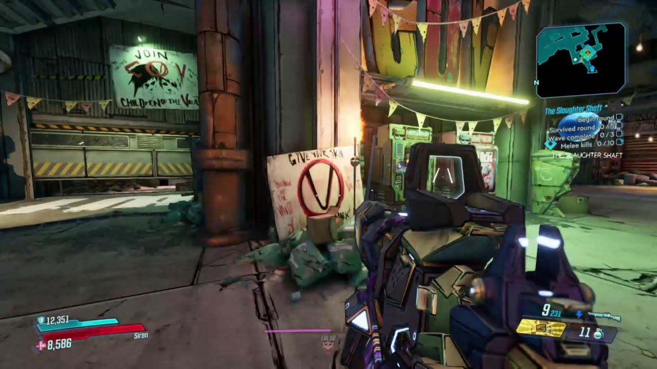 Borderlands 7 cistern of slaughter unlock
