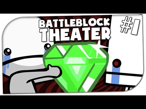 LACHFLASH-INTRO!! ♦ Battleblock Theater #1 ♦ Let's CO-OP