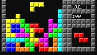 Tetris Classic Online Game Walkthrough Level 9