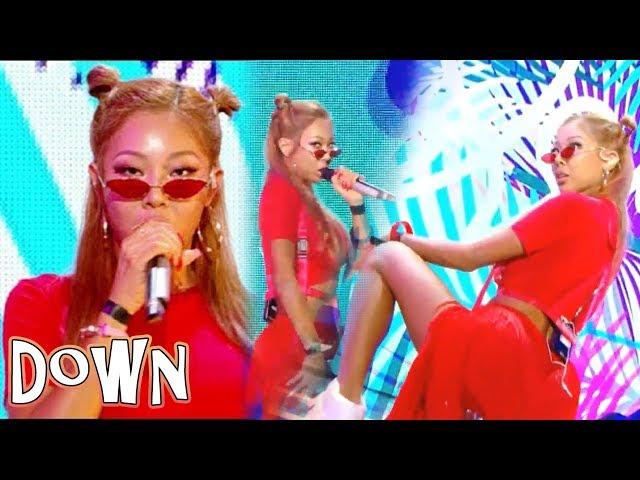 [Comeback Stage][쇼 음악중심] Jessi - Down  , 제시 - Down Show Music core 20180714