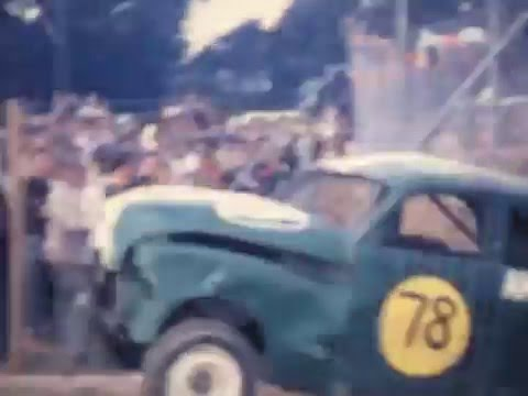 FJ Holdens Destroyed! Latrobe Speedway Tasmania Early 60s