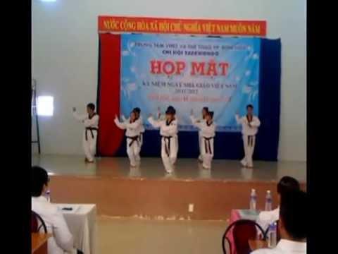 Biểu diễn võ nhạc Taekwondo