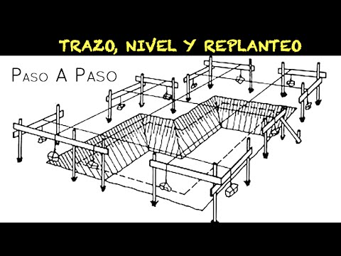 REPLANTEO DE UN PUNTO EN EL TERRENO USANDO LA MEMORIA DE