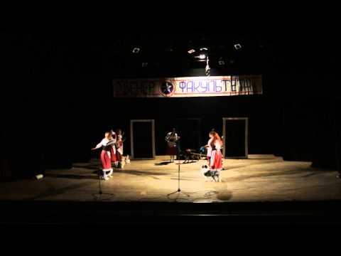 Танец с собаками на вечере факультета РиД 10.03.14
