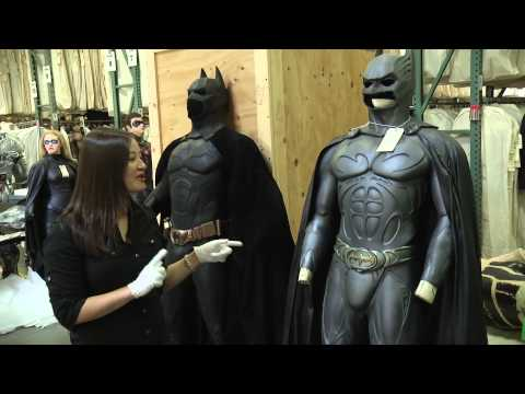 WB VIP Studio Tour - Behind the Scenes: Bruce Wayne