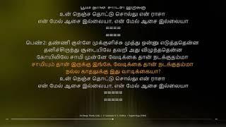Un Nenja Thottu Sollu | Rajathi Raja | Ilaiyaraaja | synchronized Tamil lyrics song