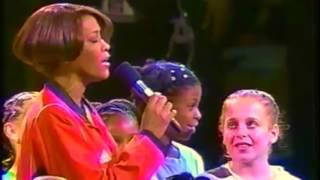 HD: whitney houston nation anthem at 1999 WMNBA game