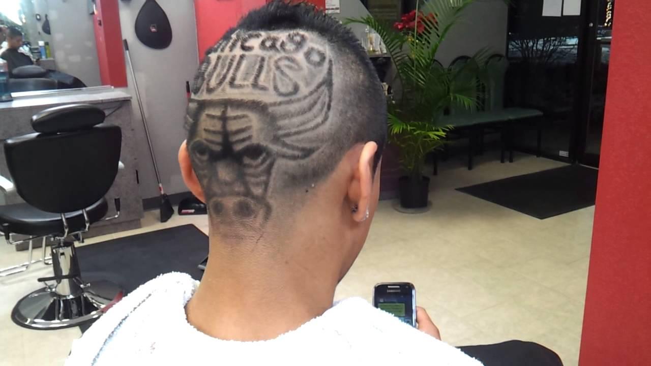 hair design chicago bulls