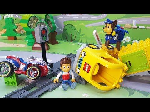 Мультики с игрушками щенячий патруль! Развивающие видео для детей