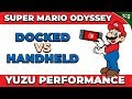 Super Mario Odyssey Emulation Performance Docked VS Handheld Yuzu Emulator mp3