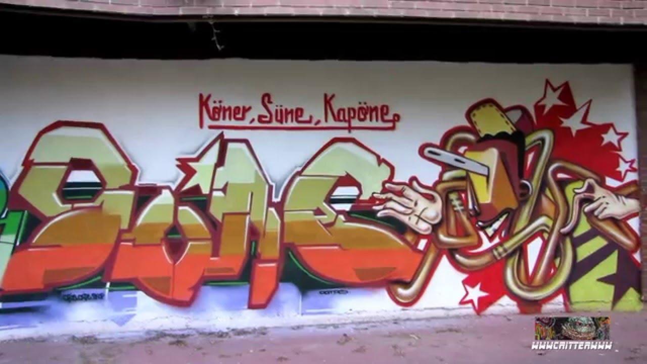 Graffitis en paredes vitoria gasteiz youtube - Graffitis en paredes ...