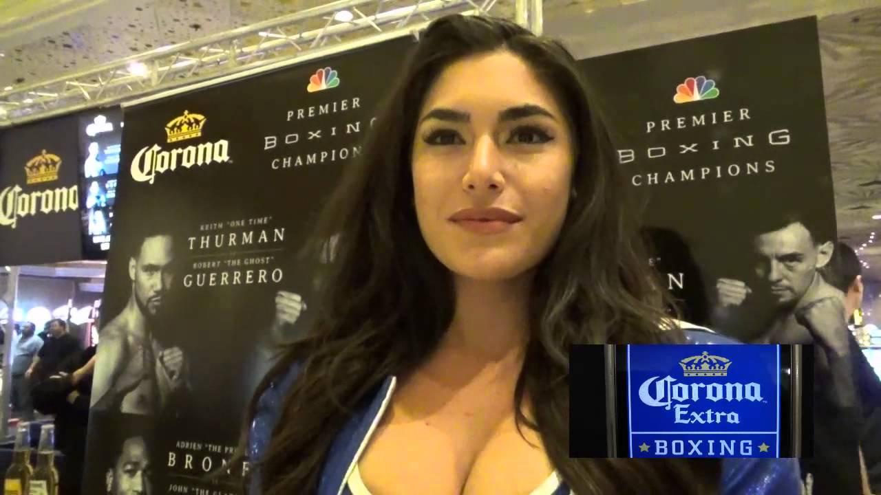 Ring Girl Nikki Howard Why She Loves Boxing - Esnews -3733