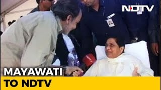 BJP Scared As Secular Forces Are Uniting: Mayawati To NDTV