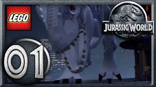 LEGO Jurassic World - Part 1 : Raptor Transfer - 2 Player (Gameplay Walkthrough)