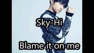 Mitsuhiro Hidaka e (Sky-Hi) es un integrante de la agrupación japon...
