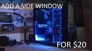 PC Mods: DIY Side Window