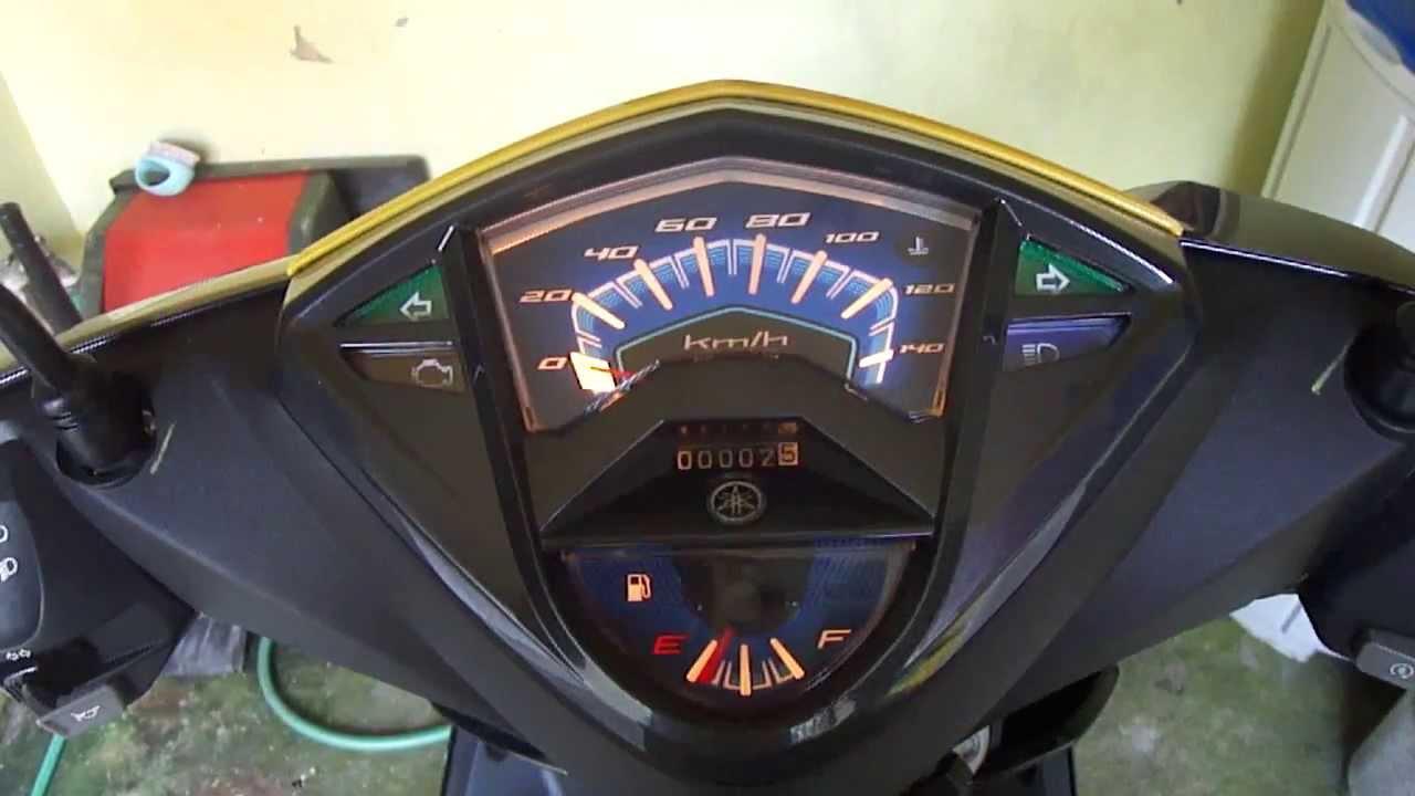 Yamaha Mio Mx 125 Wiring Diagram Hampton Bay Ceiling Fan Speed Switch I Meter Panel Youtube Premium