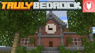 Truly Bedrock SMP - S1 : E39 - The Town Hall!