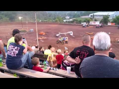 Monster Medic Freestyle 1 I-77 Speedway