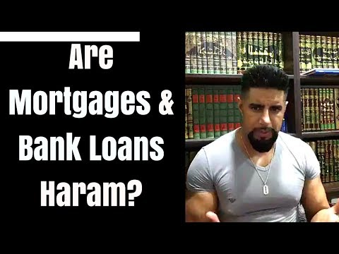 Are Mortgages & Bank Loans Haram? - Mufti Abu Layth