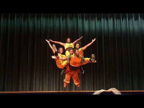 ZuZu African Acrobats put on a show for Hamilton Elementary !!
