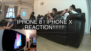 IPhone 8 | iPhone X | BEST PHONE EVER!!!!!! Reaction & Review