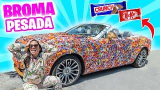 LLENO DE CHOCOLATES EL AUTO DE LUJO DE MI ESPOSO! 😅 BROMA ÉPICA 🔥 El Mundo de Camila